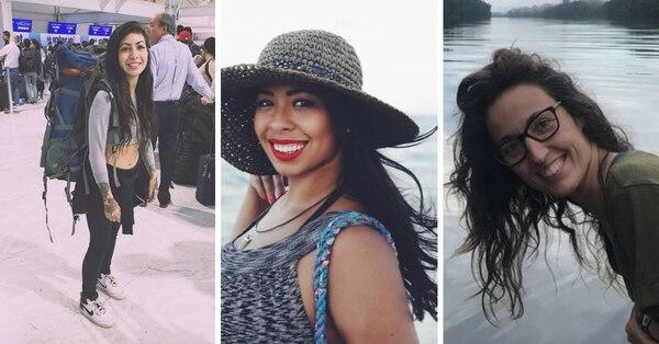 María Trinidad Mathus, Carla Stefaniak y Arancha Gutiérrez son las tres turistas asesinadas en Costa Rica en lo que va del año.