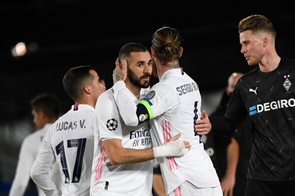 El Real Madrid cumplió sus deberes en la jornada final de Champions League. Foto: AFP