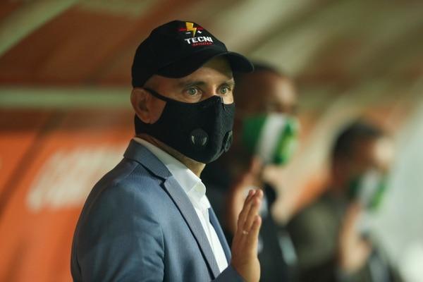 Luis Fernando Fallas dice que no todo lo que dice la respuesta de Limón FC es cierto. Fotografía José Cordero