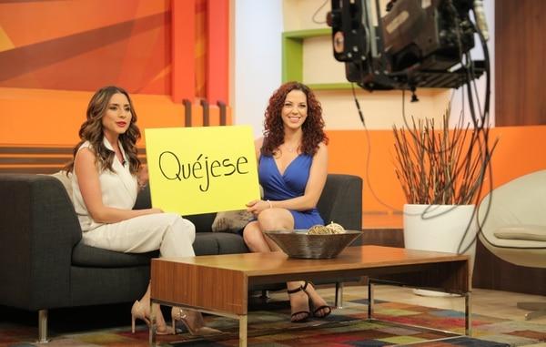 Natalia Monge (izquierda) seguirá siendo la presentadora principal de Las Historias. Foto: Jeffrey Zamora