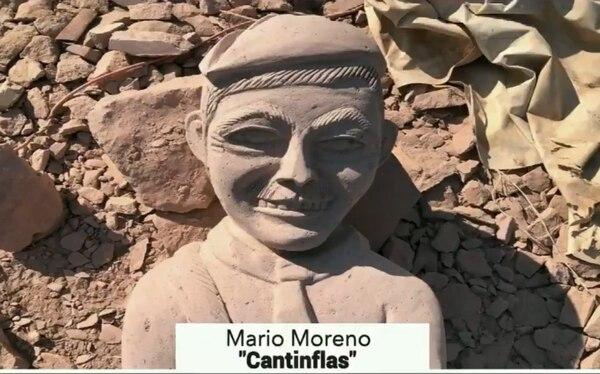 Este es, según el escultor, Mario Moreno