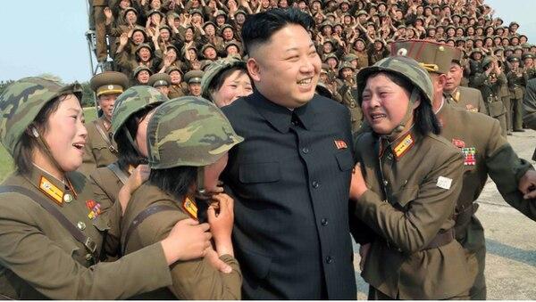El líder norcoreano es un completo enfermazo. AFP.