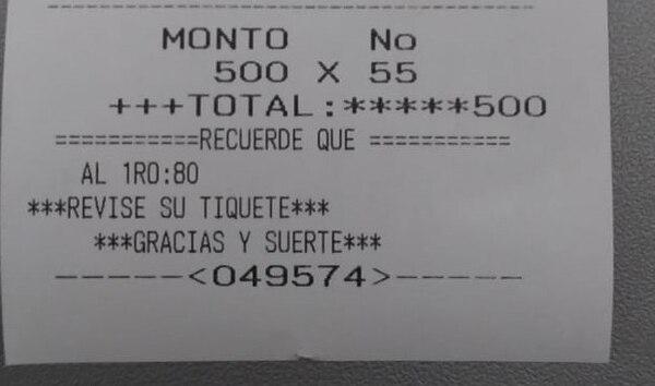 En días pasados, La Teja comprobó que también en puestos autorizados de la JPS se vende lotería ilegal que paga montos más altos.