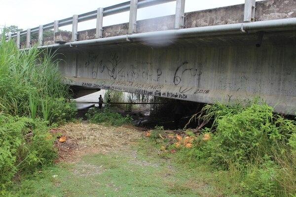 """""""Pillo"""" fue hallado con signos de tortura y varias heridas de bala, su cuerpo apareció debajo del puente de río Naranjo de Quepos. Foto: OIJ"""