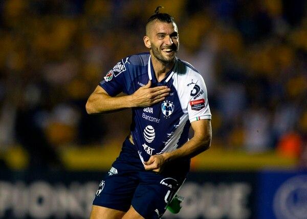 Nicolas Sanchez tiene a Monterrey con una mano en el título. (Photo by Julio Cesar AGUILAR / AFP)