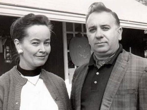 Lorraine y Edward Warren, el matrimonio famoso por ser expertos en temas paranormales. Cortesía.