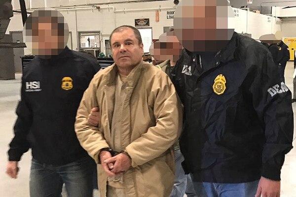 El Chapo está bien guardado en Estados Unidos. Archivo