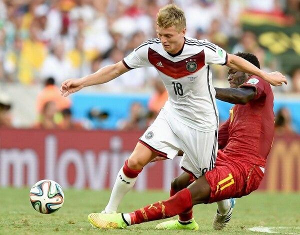Kroos fue campeón del mundo en Brasil 2014. AFP