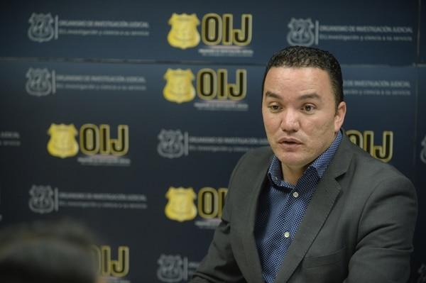 Flavio Quesada, actual secretario del OIJ, fue uno de los encargados de dirigir la investigación contra el Monstruo de Liberia.Fotos: Jorge Navarro