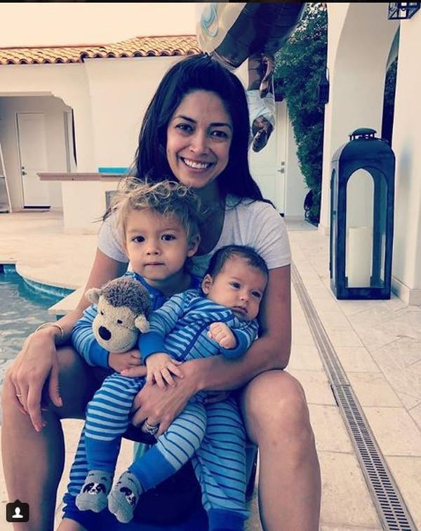 Phelps está casado con la ex Miss California Nicole Johnson y son padres de los varones Boomer y Beckett Richard. Tomado de www.instagram.com
