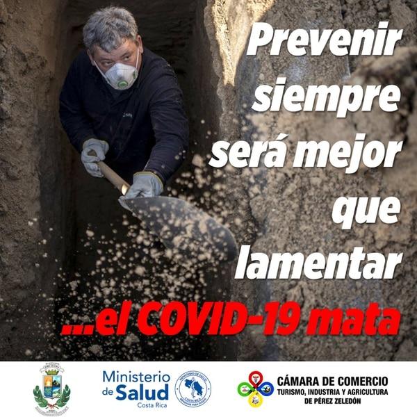 La primera etapa de la campaña termina este 15 de agosto. Foto: Cortesía Municipalidad de Pérez Zeledón.