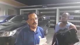 Dejan en libertad a Albino Vargas luego de zafarrancho en muni de Talamanca