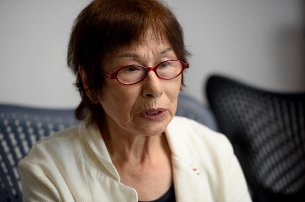 Terumi Kuramori no descansará hasta convencer al mundo que su ciudad, Nagasaki, debe ser la última en el planeta en vivir el sufrimiento de una bomba atómica. Foto Diana Méndez.