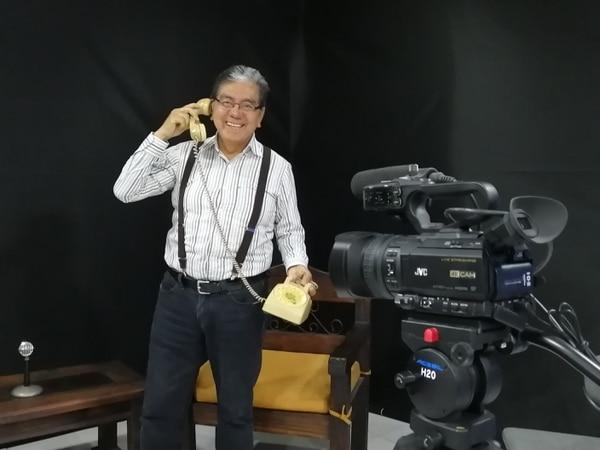 Locutor regresará a la televisión la otra semana con su programa Telemercado. Foto: Silvia Núñez