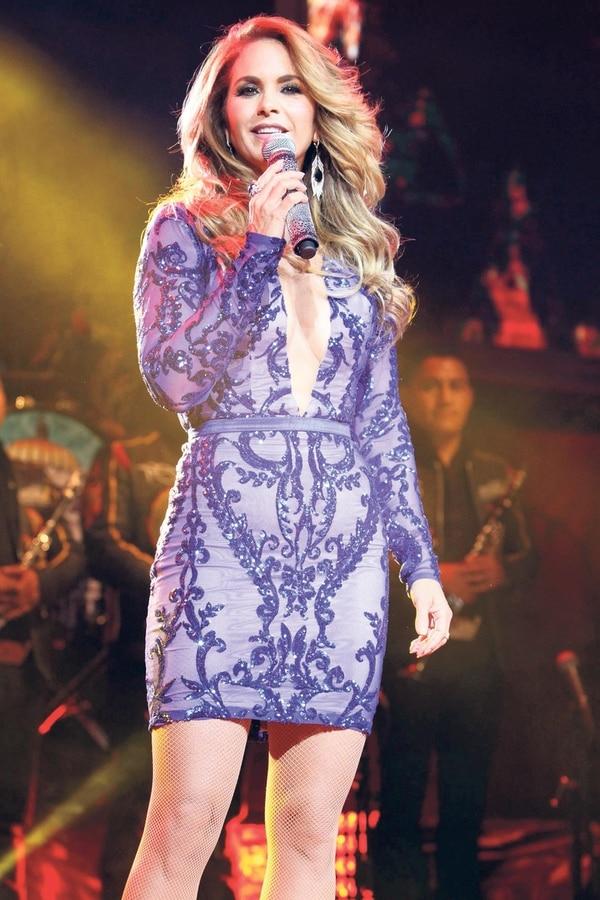 Lucero siempre se ha caracterizado por interpretar no solo baladas sino también rancheras o regional mexicano. Foto: El Universal