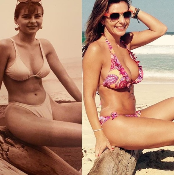 La presentadora sigue demostrando que a sus casi 50 años se sigue viendo como chiquilla de 20. Instagram