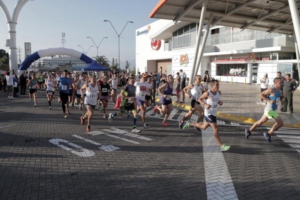 Un afortunado atleta saldrá corriendo para Panamá a ver a la Sele. Foto:Alonso Tenorio