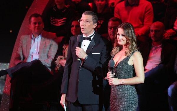 Edgar Silva sustituyó a Randall Vargas este domingo y dijo haber disfrutado mucho la gala. Foto: Graciela Solís