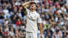 Mala suerte persigue a James Rodríguez