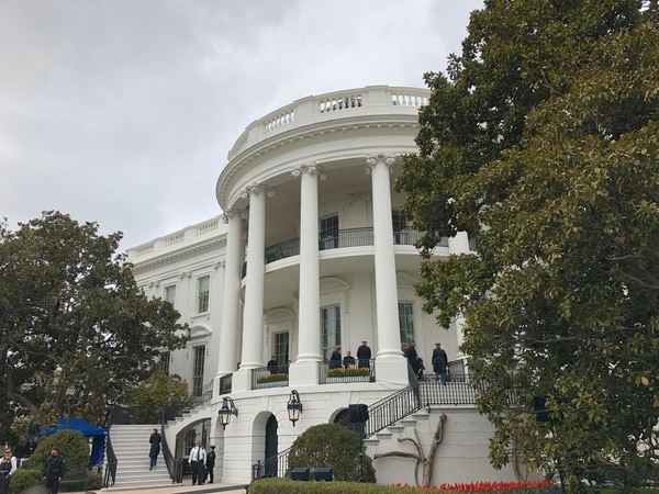 Ulises Segura visitó la Casa Blanca y como era invitado especial pudo entrar a los jardines. Foto: Cortesía Ulises Segura