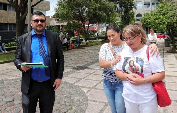 Patricia Zamora, mamá de Luany, presentó una denuncia contra el OIJ. Foto: Alonso Tenorio