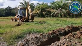 Dinamita, zanjas y árboles contra las pistas ilegales de aterrizaje