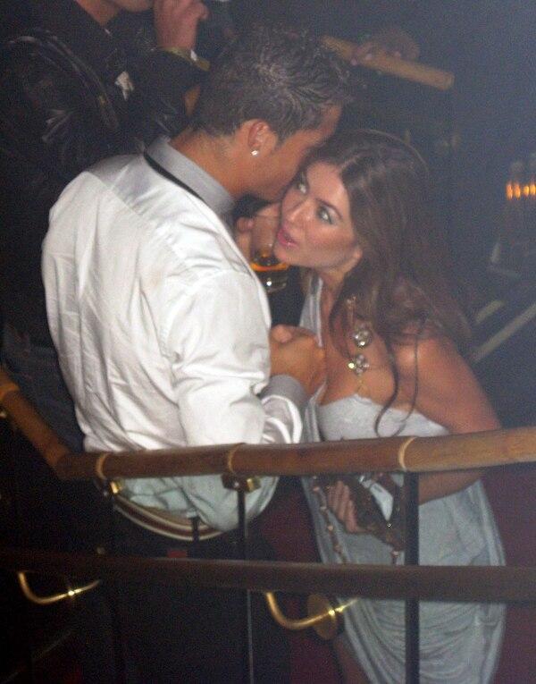 Kathryn Mayorga y el jugador cuando se enfiestaron en Las Vegas en el 2009. AP