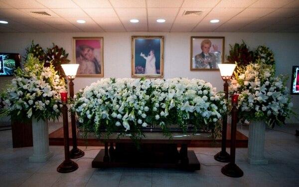 El funeral de Walter Mercado se llevó a cabo en San Juan de Puerto Rico. Foto: TW