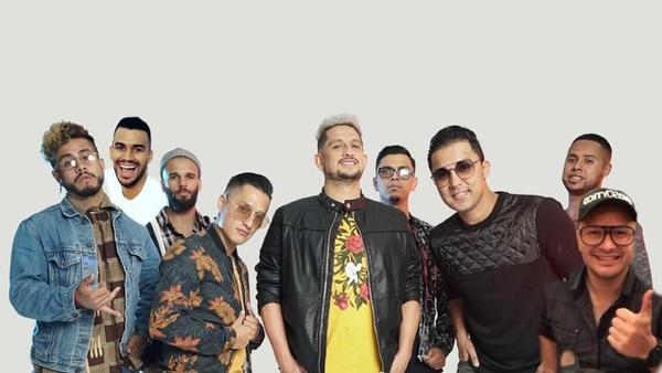 Allan Mora, también tendrá a sus compañeros de La Kuarta en el programa para cantar junto a los artistas extranjeros. Cortesía.