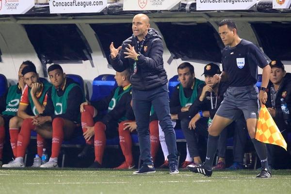 Luis Fernando Fallas estuvo como asistente técnico de Jafet Soto en el Herediano el año pasado. Foto: Rafael Pacheco