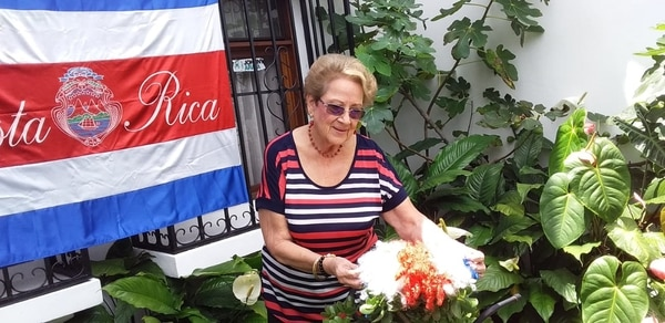 Aunque fue trabajadora de una institución pública, por más de 40 años, nunca asistió a una huelga.