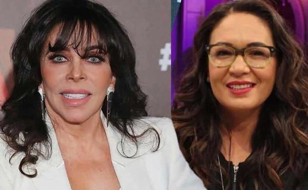 Verónica Castro y Yolanda Andrade.