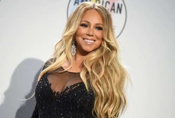 Mariah Carey, cantante. AP.