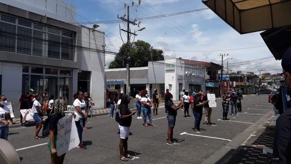 La idea de la manifestación es que los jóvenes aprendan a alzar la voz por sus derechos y conozcan lo que ocurre en el mundo. Foto: Cortesía