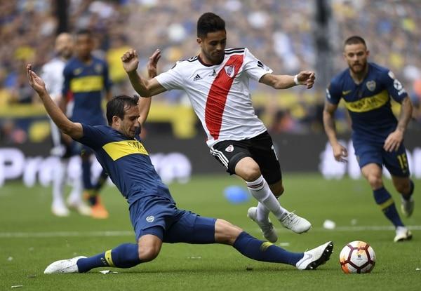 Boca y River estarían jugando el partido de vuelta de la gran final de la Libertadores fuera de Argentina el próximo 9 de diciembre. Foto AFP.