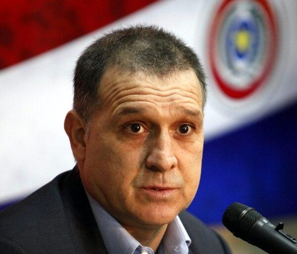 Martino se enfrentaría a Costa Rica rumbo al Mundial de Catar 2022. Archivo