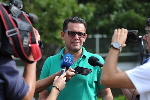 Javier Delgado no ha hablado de su salida de Alajuelense. Melissa Fernández.