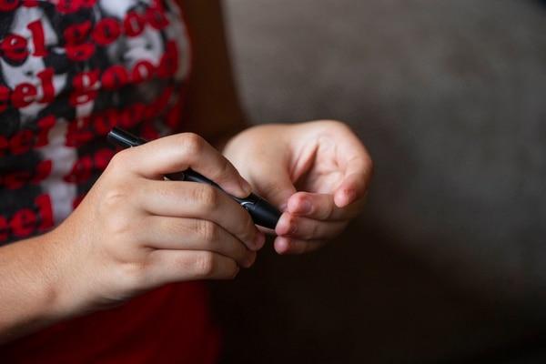 En el Hospital de Niños se han detectado más casos de niños con diabetes tipo dos que se produce por problemas de obesidad. Foto: Alejandro Gamboa / Archivo
