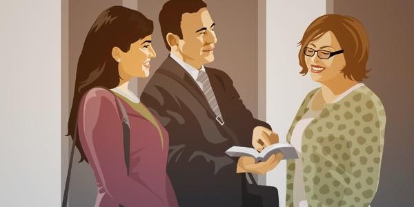 Los testigos de Jehová tuvieron que dejar de lado sus acostumbradas visitas a las casas.