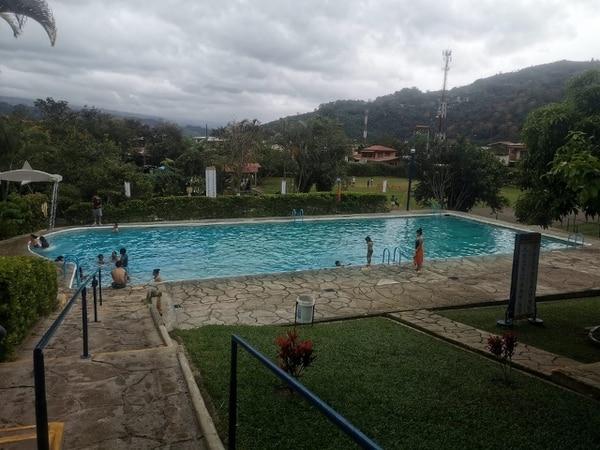 Un día después de dar a conocer la muerte del joven, en el Balneario de Aguas Termales Orosí, en Cartago se registró un 60% menos de visitantes. Cortesía.