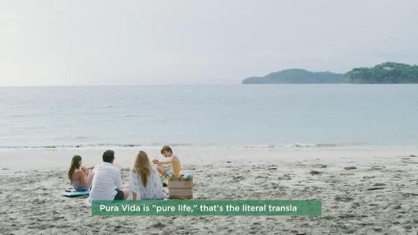 Costa Rica se muestra como un destino para aventurarse o pasear en familia. Foto: ICT.