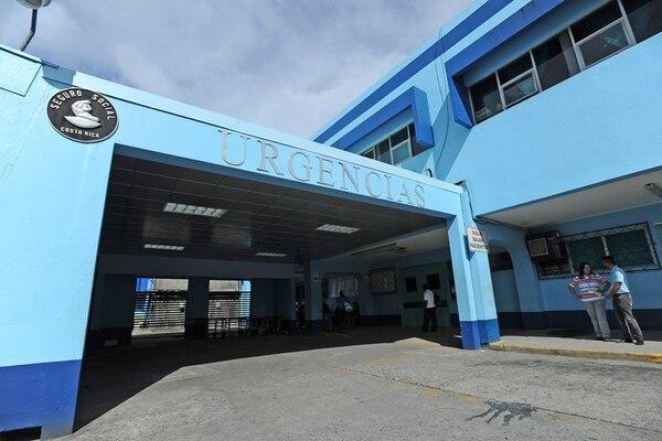 En el hospital confirmaron que cuando el hombre llegó ya estaba muerto. Foto: Albert Marín
