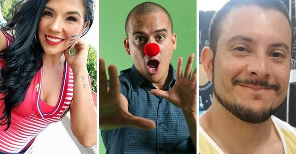 Natalia Rodríguez, Choché ROmano y Yiyo Alfaro son los conductores del Circo OK.
