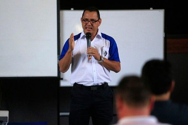 Luis Fernando Vargas , presidente del Cartaginés, se hizo aficionado al equipo por influencia de su familia materna. Foto: Rafael Pacheco