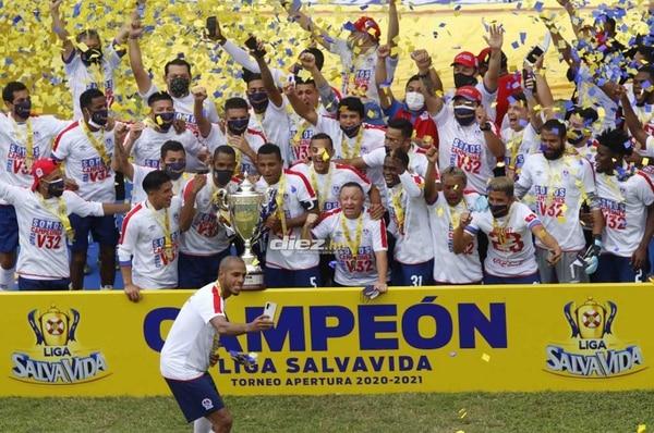 El Olimpia celebró el domingo el bicampeonato en Honduras. Foto: Archivo.