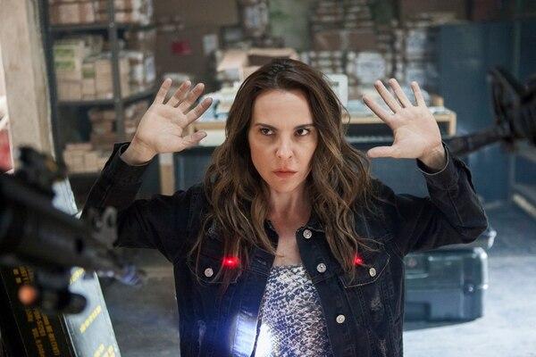 Castillo formó parte de la segunda temporada de 'Ingobernable' en Netflix.