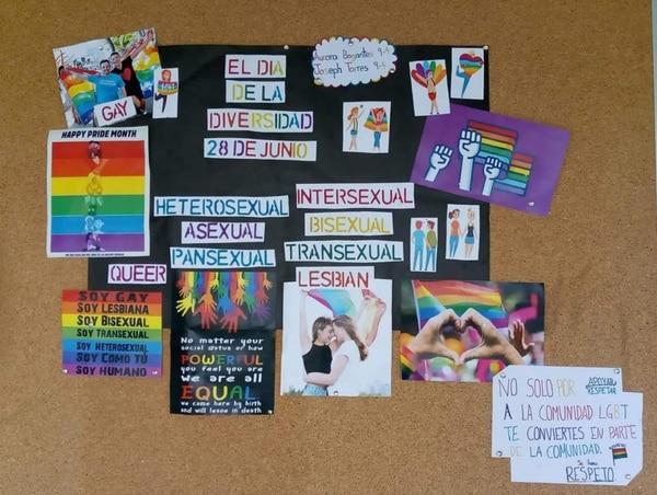 El Movimiento San Carlos niñez y juventud está indignado con actividades como esta que se realizan en los centros educativos.