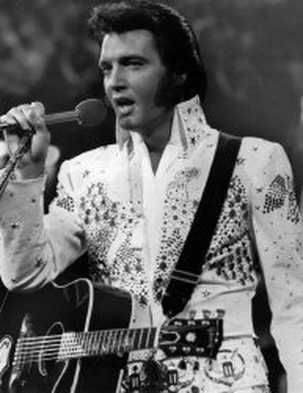 Presley siempre será considerado como uno de los mejores artistas de la historia. AP.