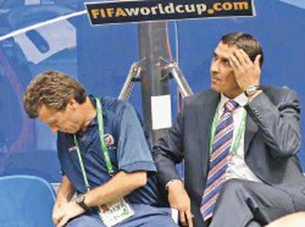 Guima ha sido el técnico nacional en los mundiales de Corea y Japón 2002 y Alemania 2006. Foto: Herbert Arley