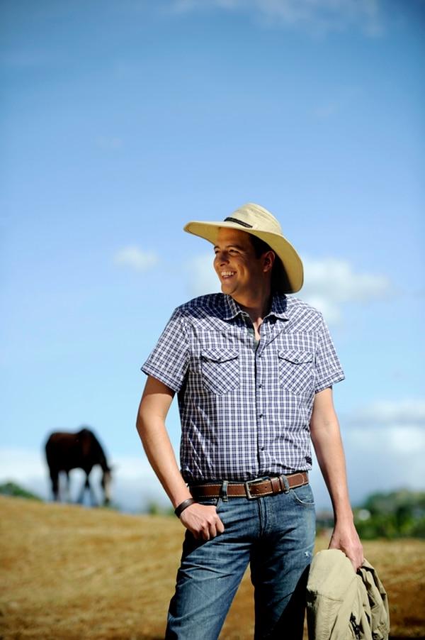 Max es oriundo de Cañas, Guanacaste, y comentó que está deseoso de conocer a Eugenio en persona. Archivo